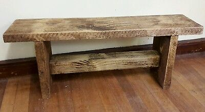 solid wooden reclaimed handmade  bench