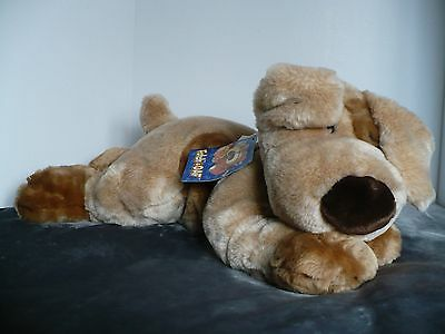 "Fetch FAO Schwarz New York Toy Super Soft Floppy Dog 25"" Plush Commonwealth"