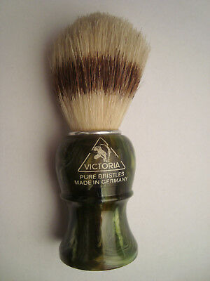 VICTORIA Pure Bristles vintage shaving brush made in Germany NOS