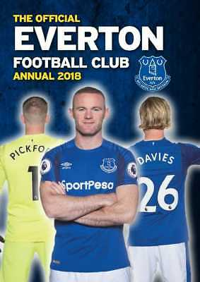 Everton Football Club Official 2018 Annual Hardback Book EFC Toffees FC Rooney