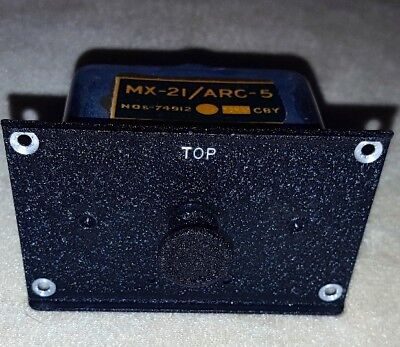 MX-21 ARC-5  Adapter Plug In Military Aircraft Radio Receiver