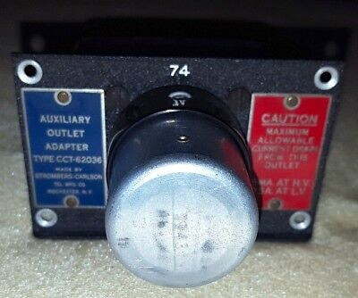 Auxiliary Outlet Adapter CCT-62036  Adapter Military Aircraft Radio Receiver