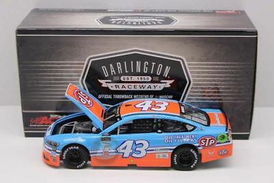 In Stock 2017 Aric Almirola #43 Stp Darlington Throwback Ford 1/24 Free Shipping