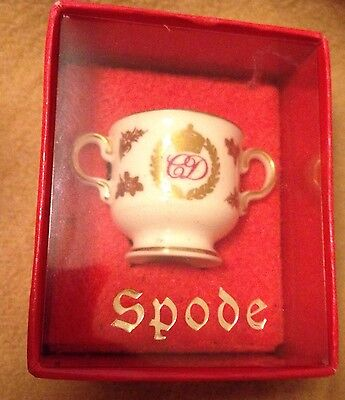 Spode Miniature Porcelain Loving Cup, Royal Collectable Charles And Diana