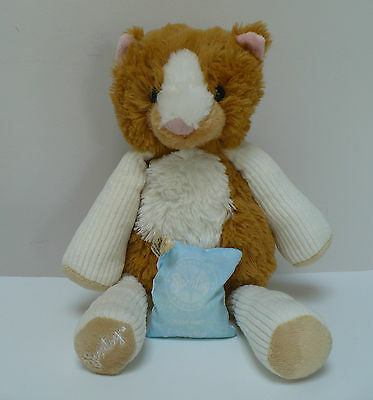 Scentsy Buddy Scratch the Cat With Eskimo Kiss Scent Pak 16 Inch Retired 2011