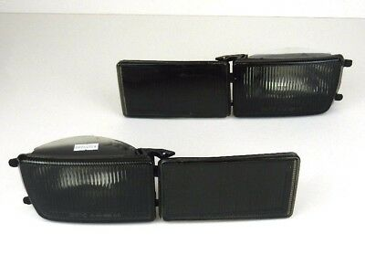 Vw Golf Iii Mk3 Vento 1991-1999 Front Bumper Reflector And Indicator Set Smoked