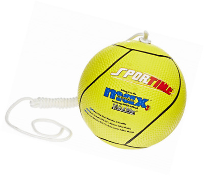 Sportime Max Yeller SofTouch Tetherball - Official Size and Weight - Yellow