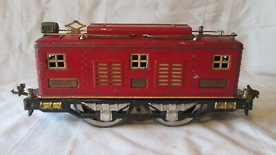 Lionel Standard gauge 8E with super motor, all original, red w/ cream trim