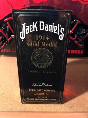 1914 jack daniels Gold Medal Unregistered Hang Tag Box All Nice