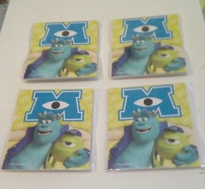Job Lot Monster's Inc MinI Note Pads x 30 Party Bag Stationery