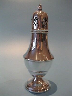 Nice Quality Vintage Edwardian Style Silver Plated Muffineer Sugar Sifter Caster