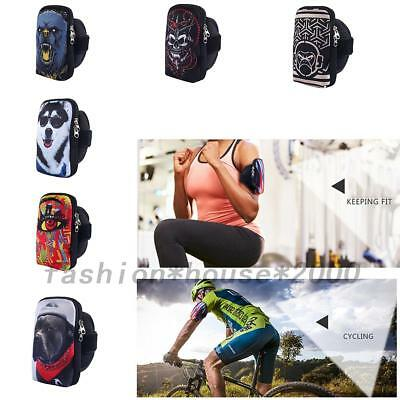 Sports Running Jogging Armband Arm Band Case Cover Pouch Bags For Various Phones