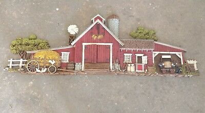 Burwood Products Company Barn and Farm Wall Decor, Numbered
