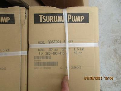 Tsurumi Industrial Submersible Pumps x 2 new in boxes