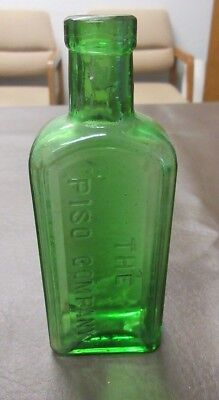 Antique Green Bottle The Piso Company