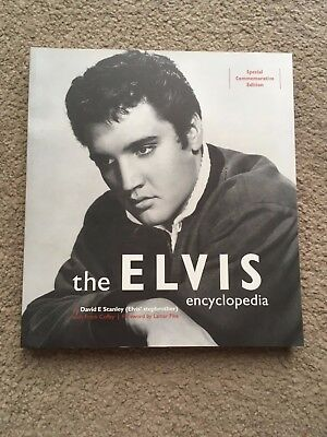 Elvis book The Elvis Encyclopedia By Elvis' Stepbrother David Stanley SpecialEdt