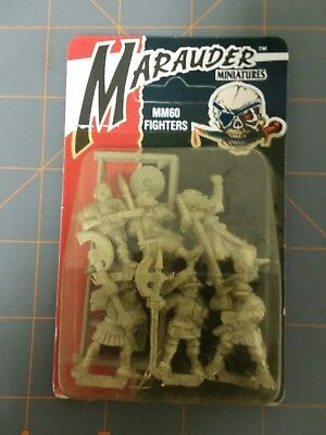 Marauder miniatures  # MM60 FIGHTERS  new/sealed