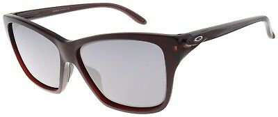 Oakley Women's Hold On Sunglasses OO9298-04 Frosted Rhone | Black Iridium Lens |
