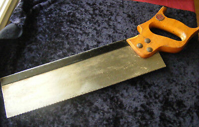 Henry Boker vintage tenon saw, used condition.