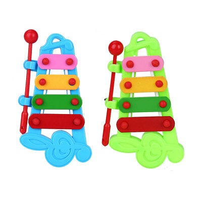 Baby Xylophone Musical Instrument Developmental 4 Note Toys Organ Coordination