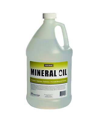 100% Pure Food Grade Mineral Oil, NSF Certified-  1 Gallon (128 Ounces)