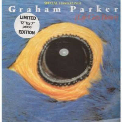 "GRAHAM PARKER Life Gets Better 12"" VINYL UK Rca 1983 3 Track B/W Too Late The"