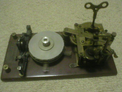 Omnigraph Morse Code Instruction Device 5 DISC WORKING WELL 1900'S