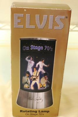 ELVIS PRESLEY 1970s ROTATING LAMP ORIGINAL BOX RARE