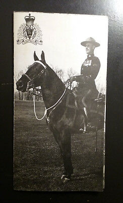 Royal Canadian Mounted Police Booklet/pamphlet/images