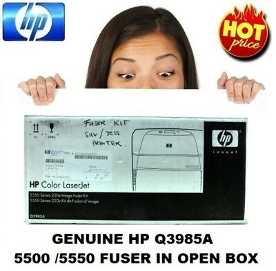 Genuine HP Q3985A Fuser Image Kit 220V 5500 / 5550 In Opened Box