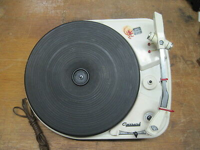 Garrard 4HF(L) Turntable Working Needs Adjusted Shuts off too early No Cart 110V