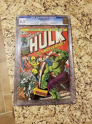 Incredible Hulk #181 CGC 6.5 (1st Full Appearance of Wolverine)