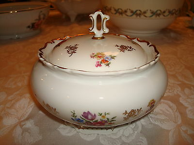 REICHENBACH GDR BOWl WITH LID,  SIGNED