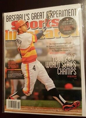 2014 Sports Illustrated Magazine Astros 2017 World Series Champs SI NO LABEL