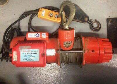 Winch 240V electric  Boat.  Building. Powerful Planetary gear winch Model CP200