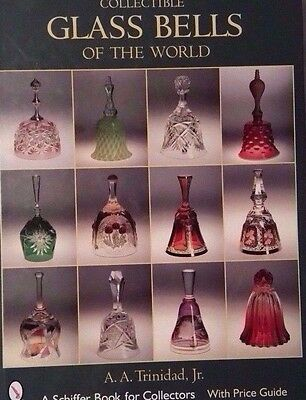 ANTIQUE GLASS BELL VALUE GUIDE COLLECTORS REFERENCE BOOK Color Photos Hardback
