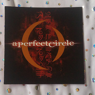 A Perfect Circle, Mer de Noms CD Insert