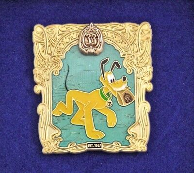 Club 33  DisneyLand 50th ANNIVERSARY October Limited Edition Pin Pluto!