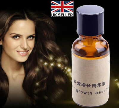 Hair Growth Essence Organic Essential Oil Natural Ingredients Free UK Delivery