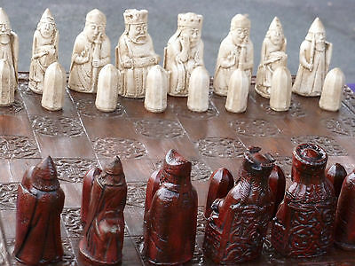 Custom Chess Sets: Isle of Lewis (Pieces only) Walking Dead/Harry Potter