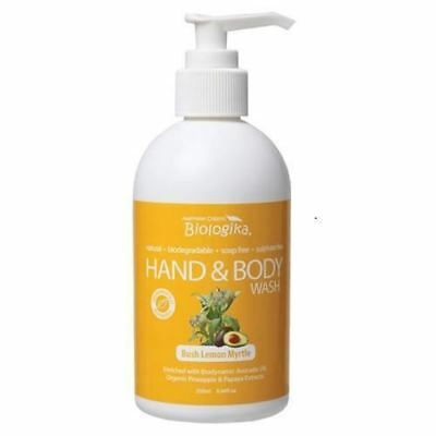 Biologika - Lemon Myrtle Hand and Body Wash 250ml (Discount)