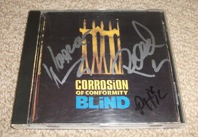 Corrosion of Conformity - SIGNED Blind CD *Autographed* Band Signed Metal