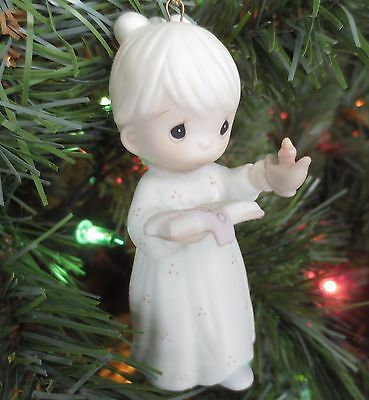 "Precious Moments Porcelain Ornament ""Once Upon A Holy Night"" 523852"