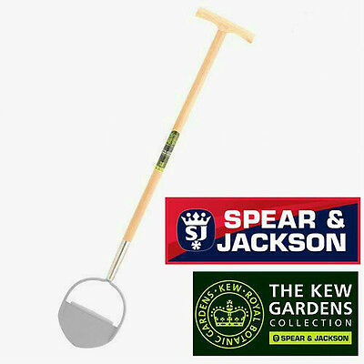 SPEAR & JACKSON Kew Gardens Carbon Steel Ash Handle Lawn Edger,Edging Knife.A