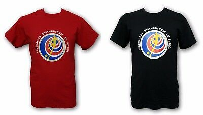 807d0a716ec Costa Rica National Team Logo Men s T-shirt 100% Cotton Crew Neck Short  Sleeve