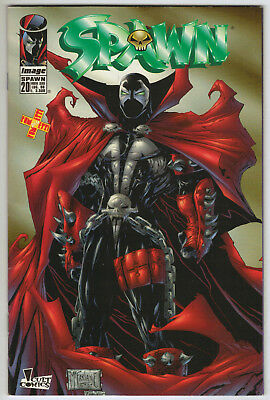 SPAWN # *ITALIAN VARIANT* cover of Spawn #1 B&W Edition in COLOR!! IMAGE 1998