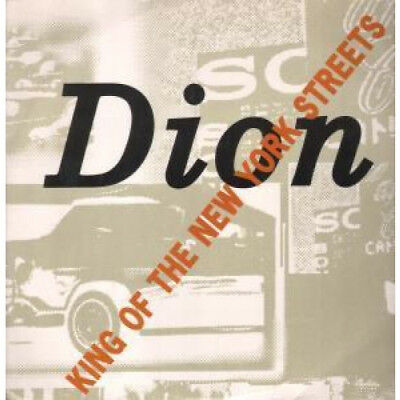 """DION King Of The New York Streets 12"""" VINYL UK Arista 1989 3 Track B/W Wanderer"""