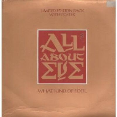 """ALL ABOUT EVE What Kind Of Fool 12"""" VINYL UK Mercury 1988 3 Track Limited"""