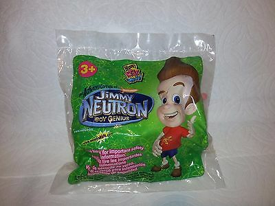 NEW Wendy's Jimmy Neutron ROCKET SHIP Kid's Meal Toy Action Figure GREAT PRICE