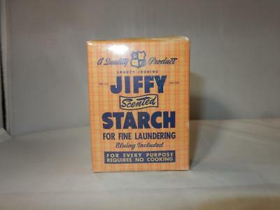 VINTAGE JIFFY SCENTED STARCH FOR FINE LAUNDERING LAUNDRY SOAP MINI 1940s